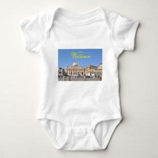 San Pietro square in Vatican, Rome, Italy Baby Bodysuit