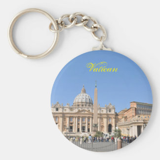 San Pietro square in Vatican, Rome, Italy Key Ring