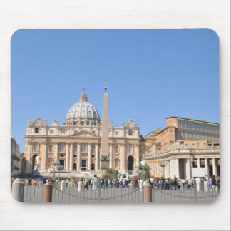 San Pietro square in Vatican, Rome, Italy Mouse Pad