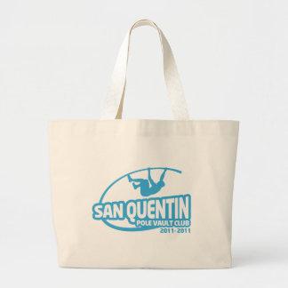 San Quentin Pole Vault Club Canvas Bags
