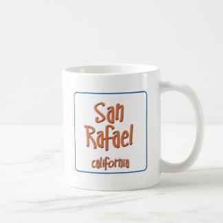San Rafael California BlueBox Basic White Mug