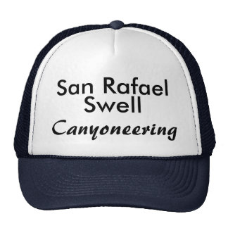 San Rafael Swell canyoneering hat
