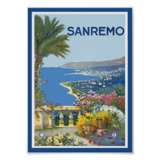 San Remo Italy Poster