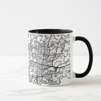SAN SALVADOR City Map Mug