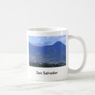 San Salvador. El Salvador Coffee Mug