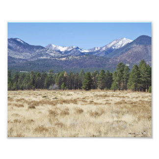 San Sanfrisco Peaks Photo Art
