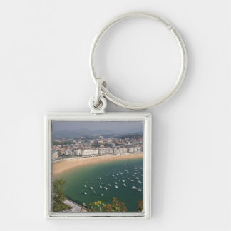 San Sebastian, Spain. The Basque city of San Key Ring
