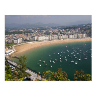 San Sebastian, Spain. The Basque city of San Postcard