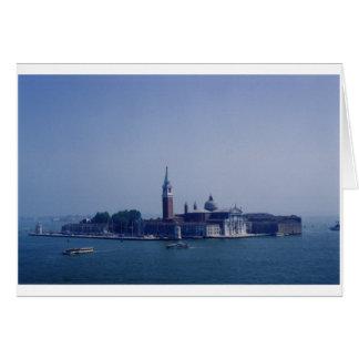 San Servolo, Venice, Italy Card