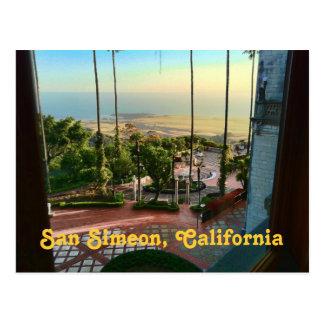 San Simeon Ocean View Postcard