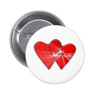 San Valentin es el dia de los enamorados Botón