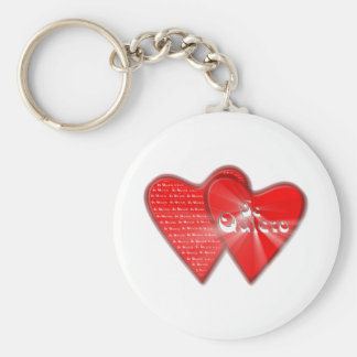 San Valentin is the day of the enamored ones Key Ring