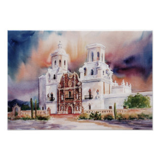 San Xavier Mission Canvas Print
