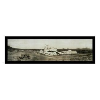 San Xavier Tucson AZ Photo 1913 Poster