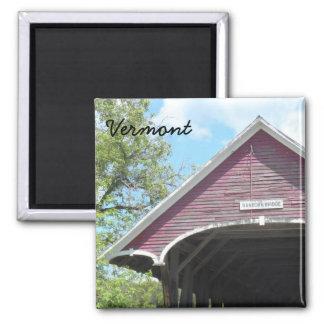 Sanborn Covered Bridge- Vermont Fridge Magnet