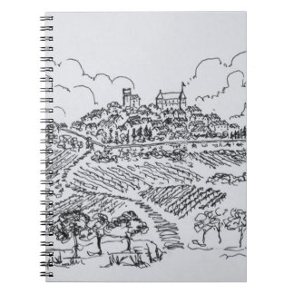 Sancerre Vineyards | Loire Valley, France Notebook