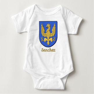 Sanchez Family Shield Baby Bodysuit
