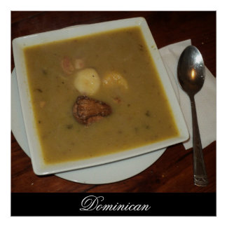Sancocho in Santo Domingo, Dominican Republic Poster