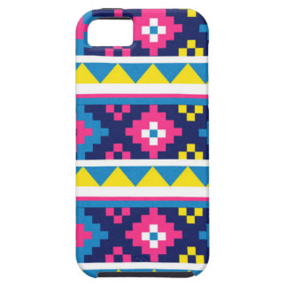 sand_and_beach AZTEC PATTERN BRIGHT COLORFUL SUMME iPhone 5 Cases