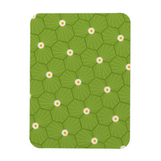 sand-and-beach_paper_geometrical-leaves GREEN LEAV Flexible Magnets