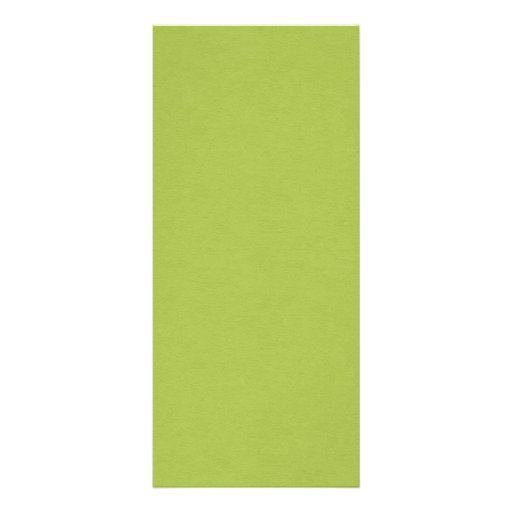 SAND AND BEACH SOLID LOVELY LIME GREEN BACKGROUND RACK CARDS