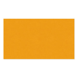 SAND AND BEACH SOLID SUMMER CREAMSICLE ORANGE BACK BUSINESS CARDS