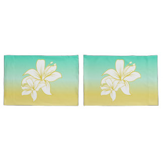 Sand and Sea Color Ombre Pillowcase