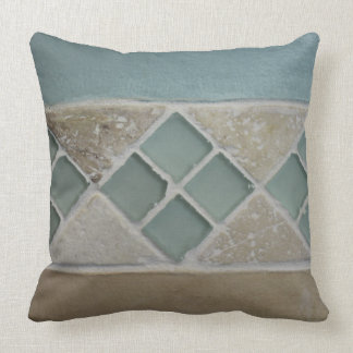 Sand And Sea Throw Pillow