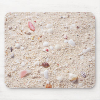 Sand and Shells Mouse Pad