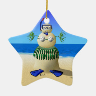 Sand Babe Ornament (add your text to back)