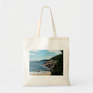 Sand Beach, Mt. Desert Island Tote Bag