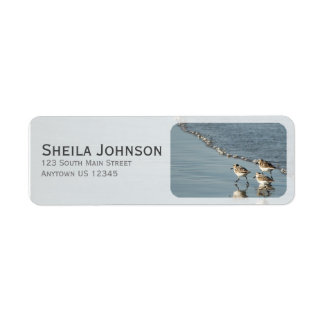 Sand Between Your Toes Beach Personalized Return Address Label