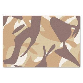Sand Camouflage Tissue Paper