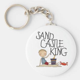 SAND CASTLE KING KEY RING