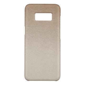 Sand Color Ombre Glitter Sand Visual Texture Dark Case-Mate Samsung Galaxy S8 Case