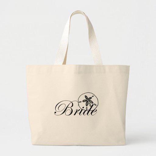 Sand Dollar Bride Canvas Bags