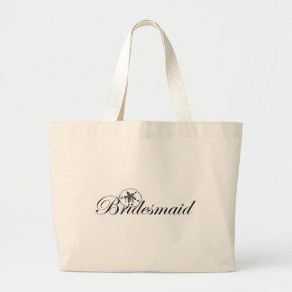 Sand Dollar Bridesmaid Jumbo Tote Bag