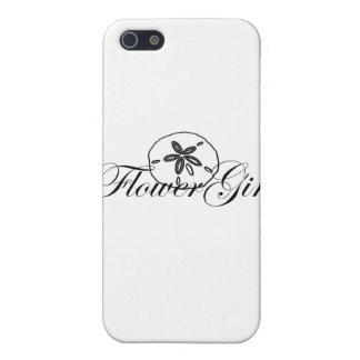 Sand Dollar Flower Girl Case For iPhone 5/5S