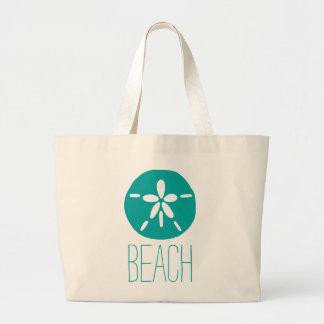 Sand Dollar Large Tote Bag