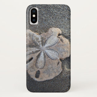 Sand dollar on sand iPhone x case