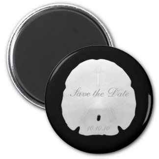 Sand Dollar Save the Date Magnet