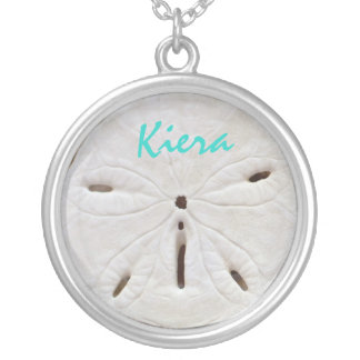 Sand Dollar Sea Shell Name Necklace