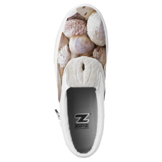 Sand Dollar Sea Shells Beach Slip On Sneakers