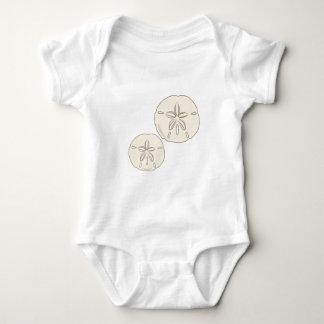 Sand Dollars Baby Bodysuit