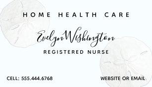 Occupational health business cards zazzle au sand dollars occupation personal business cards reheart Gallery