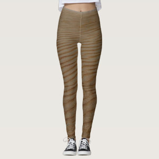 Sand Dune-Abstract by Shirley Taylor Leggings