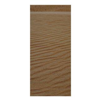 Sand Dune-Abstract Custom Rack Card
