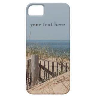 Sand dune and beach fence at Race Point, Cape Cod Barely There iPhone 5 Case