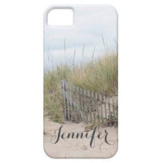 Sand dune and beach fence at Race Point, Cape Cod iPhone 5 Cases