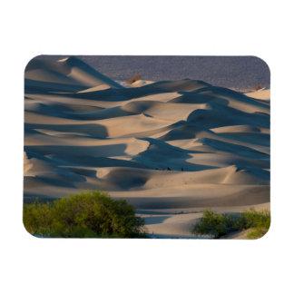 Sand dune landscape, California Rectangular Photo Magnet